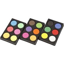 NEU Aquarellfarbe in Palette, D: 44 mm
