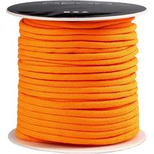 Macramé-Band, D: 4 mm, 40 m, Neonorange