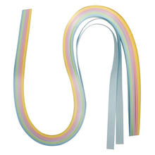 Papier f�r Quilling, 50x0,9cm, 100St., pastell