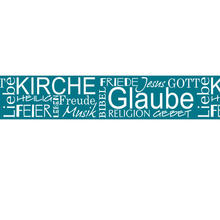 Masking Tape Konfirmation, Kommunion Glaube 3