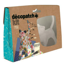 Decopatch Mini-Set, Katze, bunt,  13,5 cm