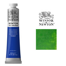 W & N,´Winton´ Ölfarbe 200ml Permanentgrün Hell