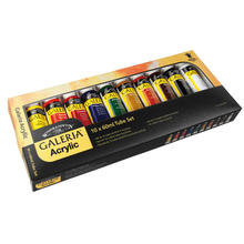 Winsor & Newton ´Galeria´ Acrylfarben-Set 10x60ml