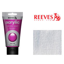 Reeves Acrylfarbe 75 ml, Silber