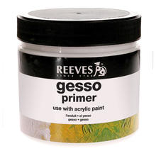 Reeves Gesso/ Primer, 946 ml Topf