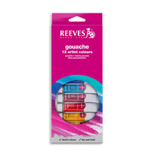Reeves Gouachefarben Sortiment, 12x10ml