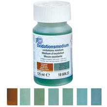 Oxidationsmedium blaugrün-rotbraun, 125ml