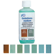 Oxidationsmedium blaugrün-rotbraun, 250ml