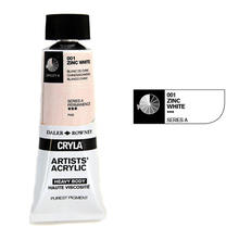 Cryla Acrylfarben, 75ml, Zinc White