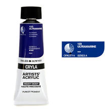Cryla Acrylfarben, 75ml, Ultramarin