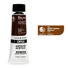 Cryla Acrylfarben, 75ml, Burnt Sienna