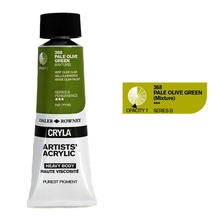 Cryla Acrylfarben, 75ml, Pale Olive Green
