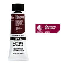 Cryla Farben 75ml Quinacridone Deep Purple