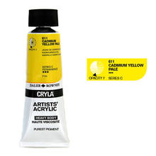 Cryla Acrylfarben, 75ml, Cadmium Yellow Pale