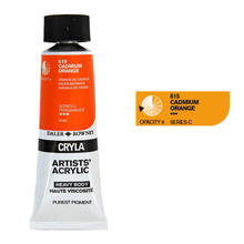 Cryla Acrylfarben, 75ml, Cadmium Orange