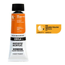 Cryla Acrylfarben, 75ml, Golden Yellow
