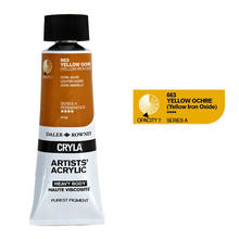 Cryla Acrylfarben, 75ml, Yellow Ochre