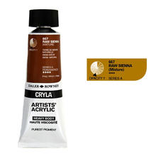 Cryla Acrylfarben, 75ml, Raw Sienna