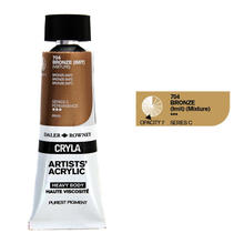 Cryla Acrylfarben, 75ml, Bronze