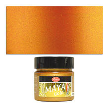 Viva Decor Maya Gold 45 ml, Orange-Gold