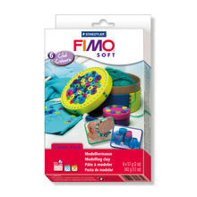 NEU Fimo Soft Material Pack Cool Colors