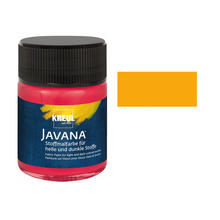Javana Tex OPAK Stoffmalfarbe, 50ml, Goldgelb