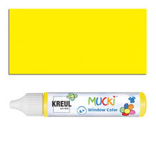 Mucki Windowcolor-Pen 29ml Gelb