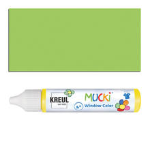Mucki Windowcolor-Pen 29ml Hellgrün