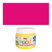 MUCKI Fingerfarbe Textil Pink 150 ml