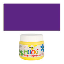 MUCKI Fingerfarbe Textil Violett 150 ml