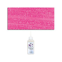 Glas-Design Windowcolor, 80ml Glitzer-Pink