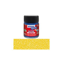 JAVANA Tex Stoffmalfarbe Glitter Gold 50ml