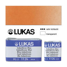Lukas Aquarell 1862, 1/2 N�pfchen, Echt-Orange