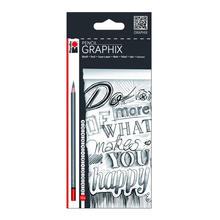NEU Marabu Pencil Graphix Set mit 12 Stk