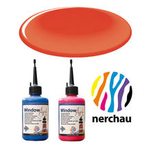 Nerchau Window Art, 80 ml, Zinnoberrot PREISHIT