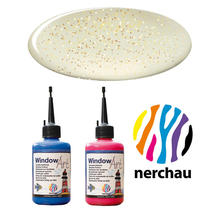 Nerchau Window Art, 80 ml, Goldflitter PREISHIT