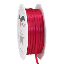 Satinband, 3mm x 50m, magenta