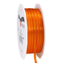 NEU Satinband, 3mm x 50m, orange