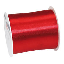 Satinband, 72mm x 3m, Rot