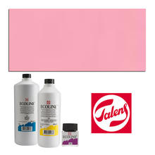Talens Ecoline, 30 ml Glas, Pastellrot