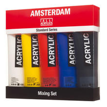 Amsterdam Acrylic Mix-Set, 5 x 120 ml