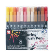 Koi Coloring Brush Pen, 48er Set