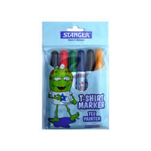 T-Shirt Marker, 1-3mm, 6er Set