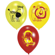 SALE Luftballons Jungle Party, 6 Stk.