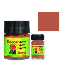 Marabu Decormatt 15ml Metallic-Kupfer