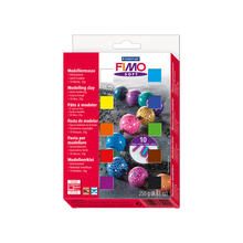 Fimo Soft Materialpackung gro�, 12 Halbbl�cke