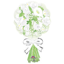 SALE Folienballon Bouquet For the Bride, 45x76 cm