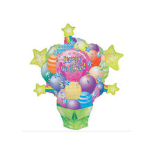 Folienballon Birthday Surprise Package ca. 86x66cm