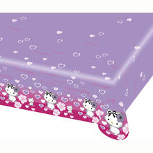 SALE Tischdecke Charmmy Kitty Hearts 1,2x1,8 m
