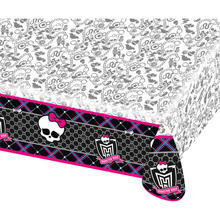 SALE Tischdecke Monster High aus Plastik